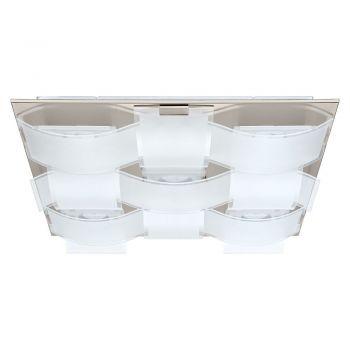 Corpuri iluminat Crystal Design Plafoniera 9 Becuri Nichel Mat-Satinat-C Eglo 93399