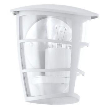Corpuri de iluminat exterior Aplica 1 Bec E27 Alb 'Aloria' Eglo 93403