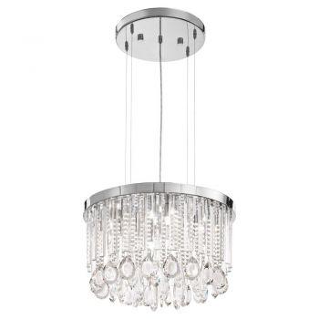 Corpuri iluminat Crystal Design Lustra 7 Becuri G9 Crom-Cristal 'Calaond Eglo 93425