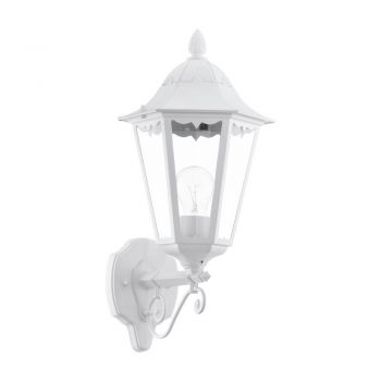 Corpuri de iluminat exterior Aplica Aluminiu 1 Bec E27 Varf In Sus Al Eglo 93446