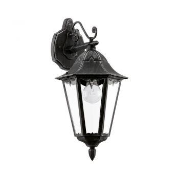 Corpuri de iluminat exterior Aplica Aluminiu 1Bec E27 Varf In Jos Neg Eglo 93456