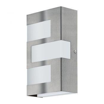 Corpuri de iluminat exterior Aplica Aluminiu 3 Becuri Led Inox-Alb 'R Eglo 94086