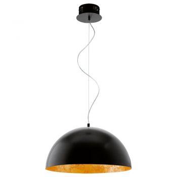 Iluminat Vintage Pendul Led Negru-Auriu 'Gaetano' Eglo 94228