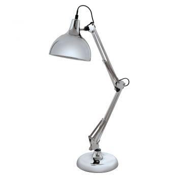 Corpuri de iluminat birou Veioza 1 Bec E27 Crom 'Borgilio' Eglo 94702
