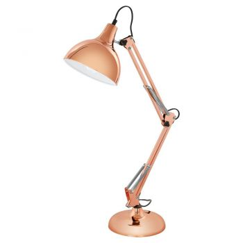 Corpuri de iluminat birou Veioza 1 Bec E27 Cupru 'Borgilio' Eglo 94704
