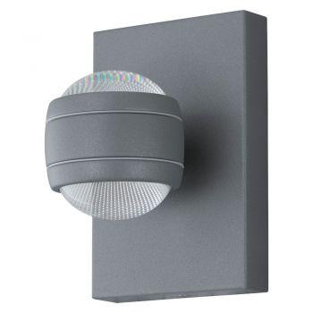 Corpuri de iluminat exterior Aplica Exterior 2X3-7W  Gri 'Sesimba' Eglo 94796