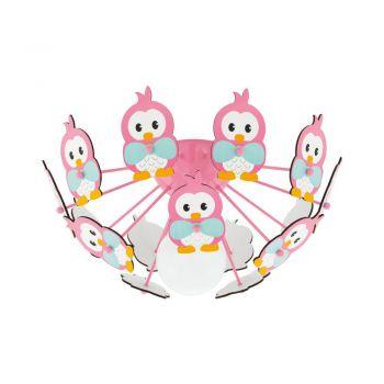 Corpuri iluminat copii Dl-1 E27 Pink M-Eulen 'Viki 2' Eglo 95637