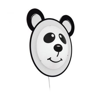 Corpuri iluminat copii Wl-1 E27 Motiv Panda 'Pandino' Eglo 95746