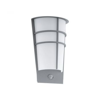 Corpuri de iluminat exterior Al-Led-Wl-2 M-Sensor Silber 'Breganzo 1' Eglo 96017
