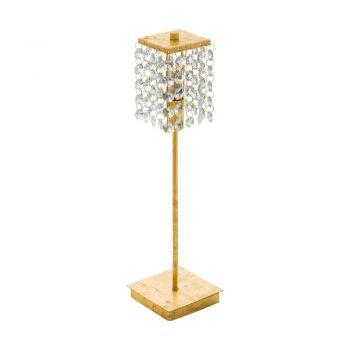 Veioze Tl-1 G9 Gold-Kristal 'Pyton Gold' Eglo 97725