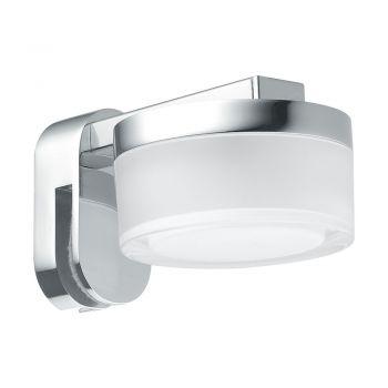Aplica baie EGLO ROMENDO 97842 - LED 4.5W 480lm 3000K IP44 - Otel - Transparent - Satinat
