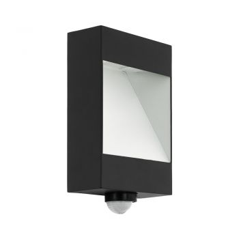 Aplica exterior EGLO MANFRIA 98098 - LED 10W 830lm 3000K IP44 - Aluminiu - Antracit - Alb