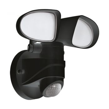 Corpuri de iluminat exterior Al-Led-Wl M-Sensor Schwarz 'Pagino' Eglo 98176