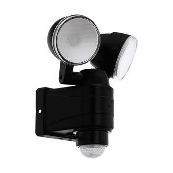 Corpuri de iluminat exterior Al-Led-Wl M-Sensor Schwarz 'Casabas' Eglo 98189