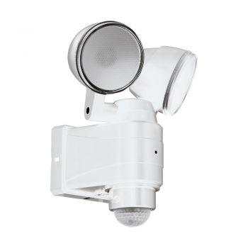 Aplica exterior EGLO CASABAS 98194 - LED 2X3.75W 800lm 6500K IP44 - Plastic - Satinat