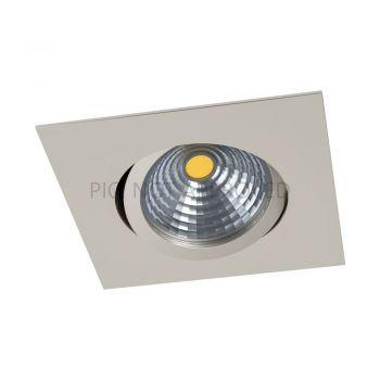 Spoturi iluminat Led-Einbausp-88X88 Nickel 2700K'Saliceto Eglo 98304