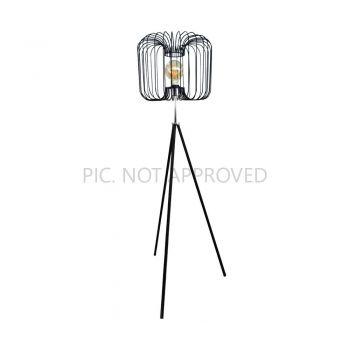 Lampi de podea Stl-1 E27 Schwarz-Chrom 'Corsavy' Eglo 98439