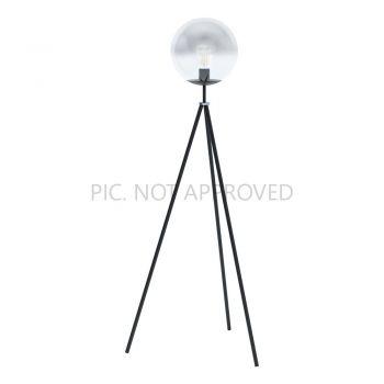 Lampi de podea Stl-1 Schwarz-Chrom-Sw-Transp-'Isorela' Eglo 98509