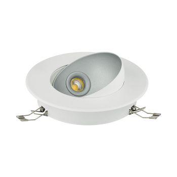 Spoturi iluminat Led-Einbauspot Weiss-Silber 'Ronzano 1' Eglo 98521