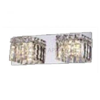 Aplice iluminat Wl-2 G9 Chrom-Kristal 'Fuertescusa' Eglo 98598