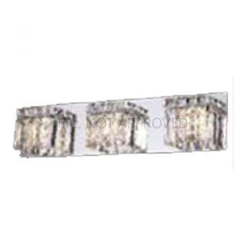 Aplice iluminat Wl-3 G9 Chrom-Kristal 'Fuertescusa' Eglo 98599