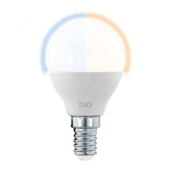 Bec dimabil din telecomanda EGLO ACCESS 11804 - LED E14 5W 400lm 2700-6500K D45mm - Lumina calda - lumina neutra si lumina rece
