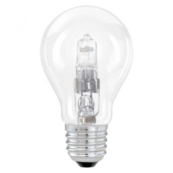 Bec dimabil EGLO 12481 - E27 halogen 42W 625lm 2700K D55mm - Lumina calda