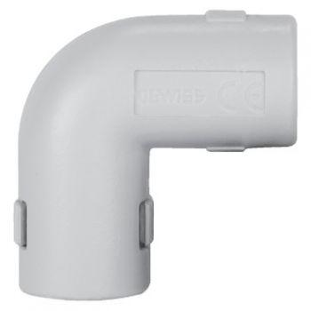 Teu tub rigid Rke-25G Inspect-Bend Grey Gewiss DX40325