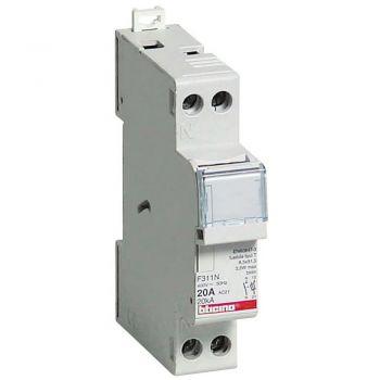 Bticino Sigurante Automate Portfuzibil sezionabile 1P N 20A F311N