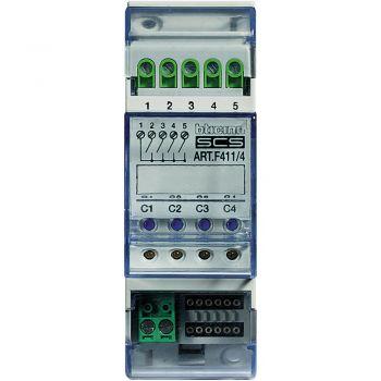 Bticino My Home Actuator 4Releue 2Mod Din F411/4