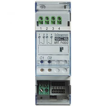 Bticino My Home Control Termperatura Actuat Control Temp Cu 2Releue F430/2