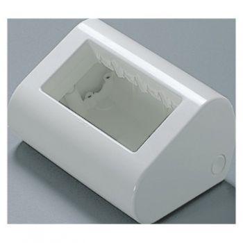 Doza Aparataj 4 Module Smoke Grey Desktop Enclosure Gewiss GW24019