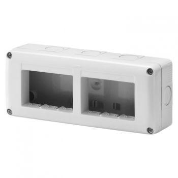 Doza Aparataj aparenta Horiz-6 2X3 Modul Enclosure Ip40 Gewiss GW27005