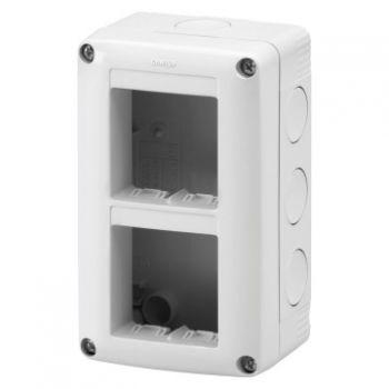 Doza Aparataj aparenta Vert-4 2X2 Modul Enclosure Ip40 Gewiss GW27021