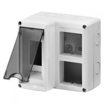 Doza Aparataj aparenta Enclosure 2Mod-Dinplus 2X2 Mod-System Gewiss GW27071