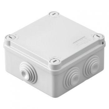 Doza derivatie aparenta Doza Gl-1-4T 100X100X50 Ip55 Gewiss GWt 960 Gewiss GW44054