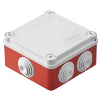 Doza derivatie aparenta Ip55 100X100X50 Box ? T S Gl Gewiss GWt 960 Grade C R Gewiss GW44054R