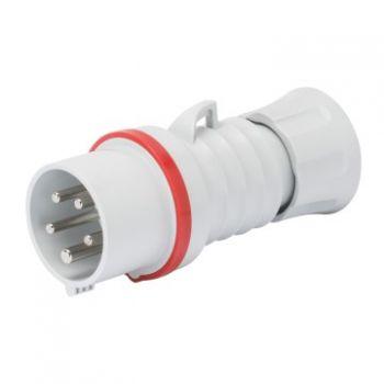Fisa-stecher industrial Plug Hp Ip44 3P plus E 16A 400V 6H Inver-Gewiss GW60008WH