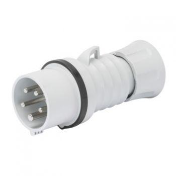 Fisa-stecher industrial Plug Hp Ip44 3P plus E 16A 500V 7H Gewiss GW60010H