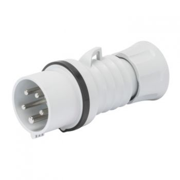 Fisa-stecher industrial Plug Hp Ip44 3P plus N plus E 16A 500V 7H Gewiss GW60011H