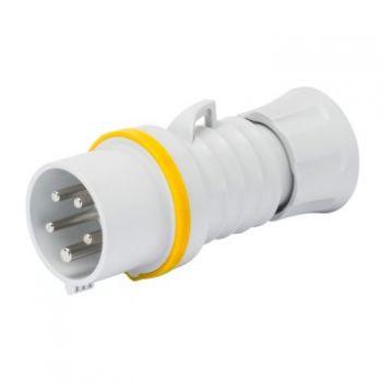 Fisa-stecher industrial Plug Hp Ip44 3P plus N plus E 32A 110V 4H Fw Gewiss GW60014FH