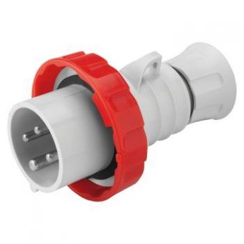 Fisa-stecher industrial Plug Hp Ip67 3P plus E 16A 400V 6H Inver-Gewiss GW60030WH