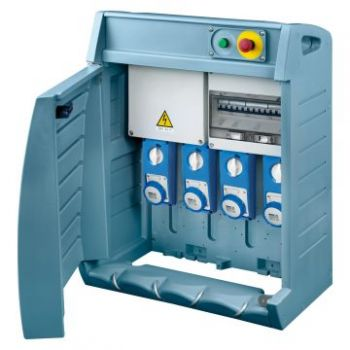 Tablou industrial Q-Box4 Acs Tb-S 4 Soc-Sbf 12 Kw Em Gewiss GW68511
