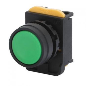 Buton selectoar Green Momentary Buton Cu Revenire With Guard Gewiss GW74301