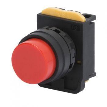Buton selectoar Rosu Momentary Buton Cu Revenire No Guard Gewiss GW74311