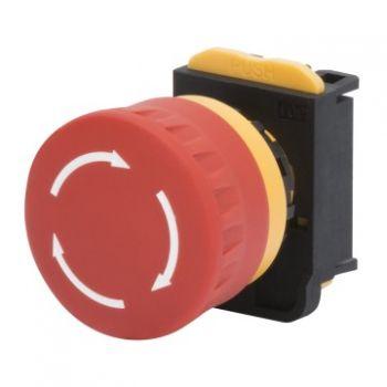 Buton selectoar Mushroom-Head Button D-40Mm Holding Gewiss GW74361