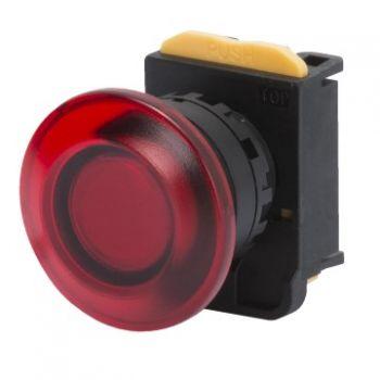 Buton selectoar Mushroom-Head Button D-40Mm Maint-Ill-Gewiss GW74367