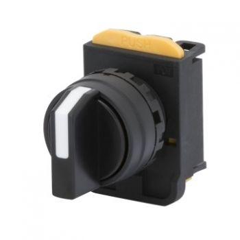 Buton selectoar Rond Lever Selector Return Posit-0-1 Gewiss GW74421