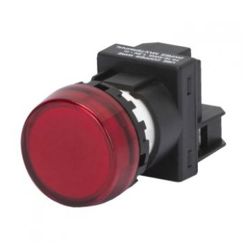 Buton selectoar Rosu Indicator With Lamp Gewiss GW74452