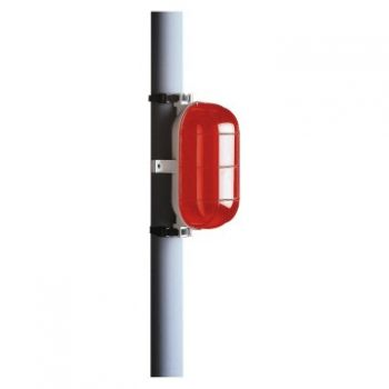 Corp iluminat Tarta 60W E27 Ip44 Incand-Rosu Gewiss GW80411